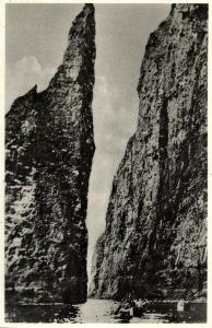 denmark, Faroe Islands, STREYMOY, Vestmannabjørgini (1940s)
