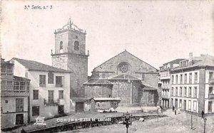 Iglesia de Santiago Coruna Spain Unused
