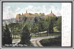 Massachusetts, Wellesley College Hall - [MA-650]