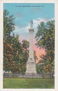 Georgia Savannah Pulaski Monument 1941