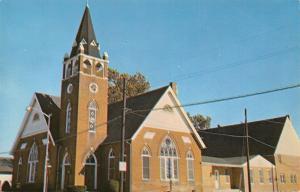Seaford DE Mt Olivet Methodist Church~Belltower & Annex 1950s