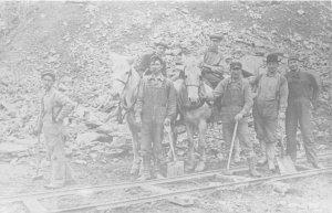 G76/ Newark Ohio RPPC Postcard REPRINT c1980s Blackhand Gorge Sand Quarry