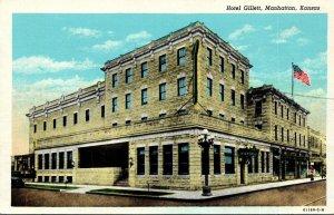 Kansas Manhattan Hotel Gillett Curteich