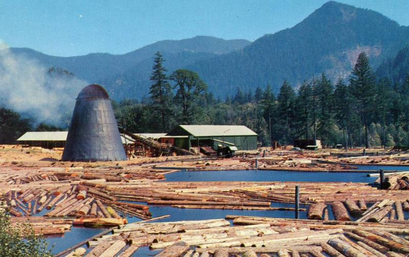 OR - Sawmill and Log Pond