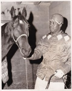 YONKERS Raceway Harness Horse FIRESWEEP , 1968 & Marion Tolson