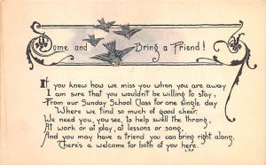 Some and Bring a Friend! Religious 1919