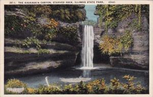 Illinois Starved Rock The Kaskaskia Canyon Illinois State Park