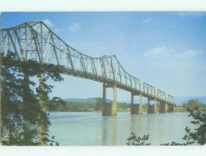 Unused Pre-1980 BRIDGE SCENE Huntsville Alabama AL HQ9592