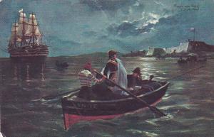 La Historia Argentina Ilustrada , PU-1910 ; Embarque de el Ex-Virrey Cisneros