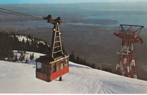VANCOUVER , B.C. , Canada , 50-60s ; Grouse Mountain Skyride