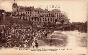 CPA BIARRITZ - Le Casino de Bellevue et cOUCHEr du soleil (450445)