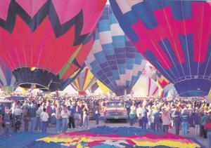 Colorful Hot Air Balloons, Albuquerque International Balloon Fiesta, New Mexi...