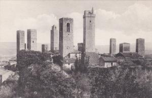 Veduta Delle Torri Presa Dalla Rocca, SAN GIMIGNANO (Tuscany), Italy, 1900-1910s