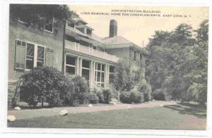 Administration Building, Loeb Memorial Home for Convalescents, East View, New...