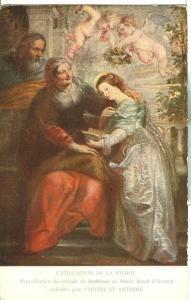 L'Education de la Vierge, Rubens, pour l'Hotel St Antoine
