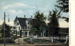 Home of Rev Mary Baker G Eddy Concord NH Unused