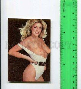 263858 USSR ESTONIA Nude girl Koop Jaana Pocket CALENDAR 1990