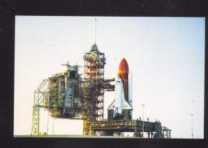 KENNEDY SPACE CENTER FLORIDA SPACE SHUTTLE CHALLENGER VINTAGE POSTCARD