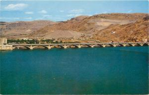 Coulee City Wash.~Grand Coulee Dam~Blocking Columbia River~Lake Roosevelt~1960s