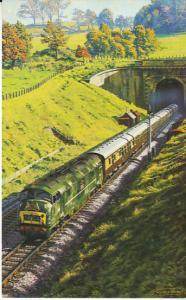 W.R. WarshipClass Diesel Leaving Box Tunnel w/Bristolian