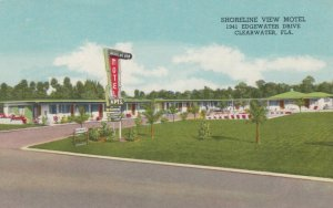 CLEARWATER, Florida, 1940-60s; Shoreline View Motel