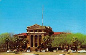 Corpus Christi Texas Nueces Court House Street View Vintage Postcard K63471