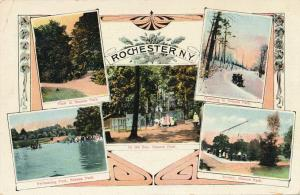 Multiview Greetings from Seneca Park, Rochester, New York - pm 1912 - DB