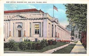 USA Post Office Madison Ave. and 13th Toledo, Ohio 1935