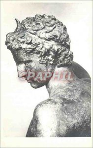 Postcard Modern Athens Museum Archeol Tete D Ephebe of Marathon