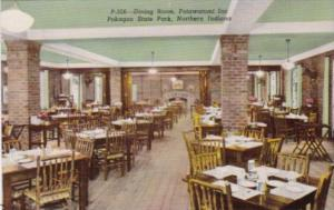 Indiana Pokagon State Park The Dining Room Potawatomi Inn Curteich