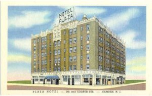 Plaza Hotel, 5th and Cooper, Camden, New Jersey, NJ, Linen