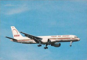 ROYAL AIR MAROC BOEING 757