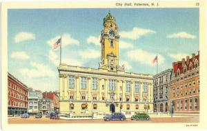 Linen of City Hall Paterson New Jersey NJ