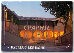 Modern Postcard Balaruc les Bains Herault Le Pavillon Sevigne and Foot Bath