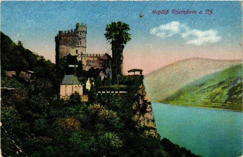 CPA AK Schloss Rheinstein GERMANY (1011744)