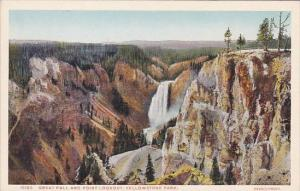 Great Fall And Point Lookout Yellowstone National Park