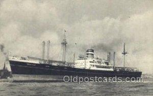 SS Soestdijk Holland - America Line, Steamer, Steam Boat, Ship Unused