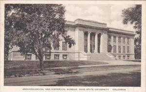 Ohio Columbus Archaeological &  Historical Museum Ohio State University Al...