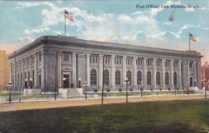 Post Office Des Moines Iowa 1922