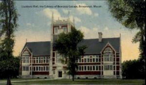 Hubbard Hall Library, Bowdoin College Brunswick ME Unused