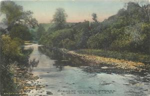 Whitesville NY~Handcolored: Stony Edge to Cryder Creek~1909 Postcard