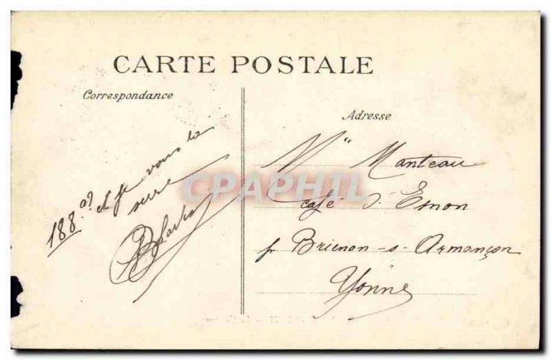 Old Postcard Saint Denis Army Barracks