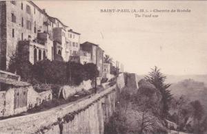 The Patrol Way, Chemin De Ronde, Saint-Paul (Alpes Maritimes), France, 1900-1...