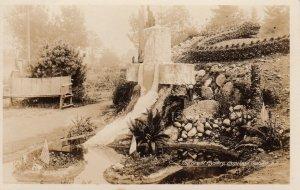 RP: Capilano Garden , B.C. , Canada , 1910s ; The Great Mystery