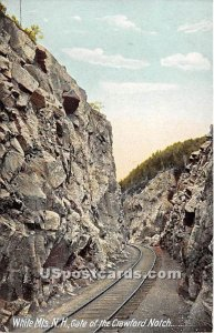 The Gate in Crawford Notch, New Hampshire