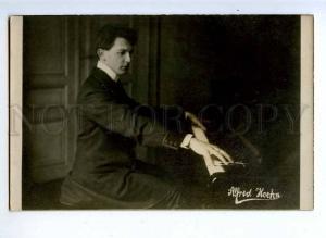 194040 Alfred HOEHN German PIANIST Winner Vintage PHOTO PC