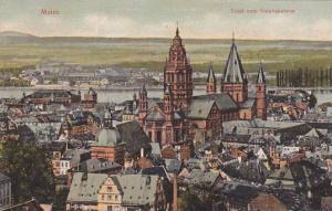 Total Vom Stephansturn, Mainz (Rhineland-Palatinate), Germany, 1910-1920s