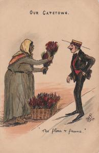 Our CAPETOWN, comic; The Flora & Fauna, South Africa, 1890s-1905