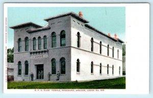 ROSEBURG, Oregon OR ~ B.P.O. ELKS' TEMPLE  ca 1900s UDB Fraternal Postcard
