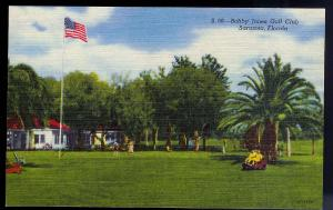 Bobby Jones Golf Club Sarasota FL unused c1950's